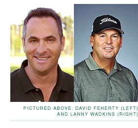 David Feherty and Lanny Wadkins
